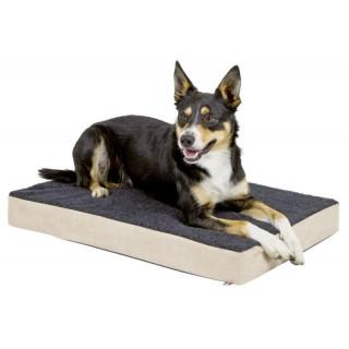 Zdravotní matrace pro psy z paměťové pěny, oválná, 100 x 60 x 8 cm