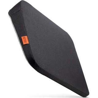 Podsedák klínový do auta 33 x 37 x 7 cm, černý, pěnový polštář pro autosedačku